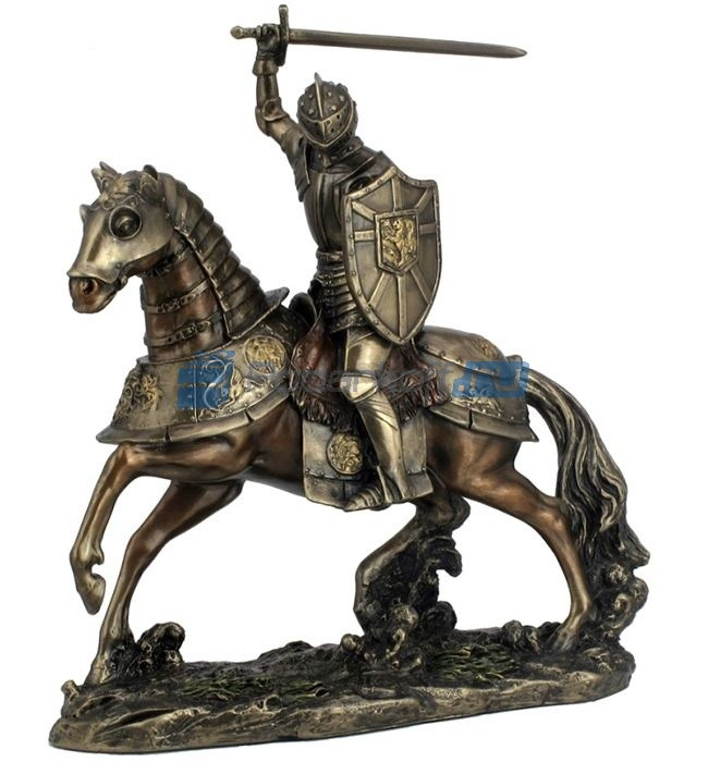 Статуэтка Рыцарь на коне с мечом