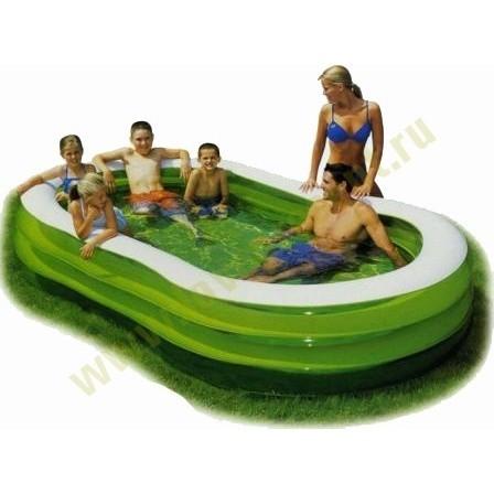 Надувной бассейн Family Pool Intex (От 3-х лет)
