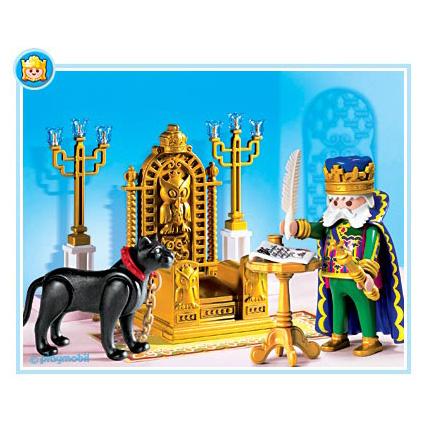 Король в тронном зале