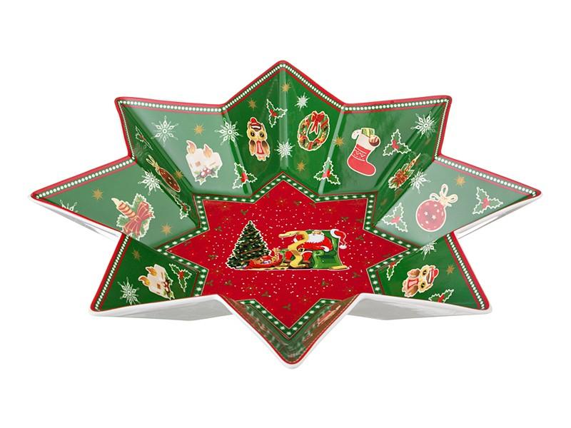 Блюдо Новогодняя звезда