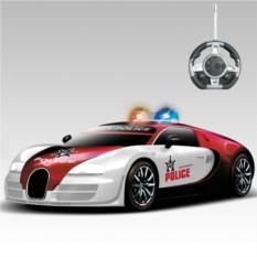 Радиоуправляемый конструктор-авто Bugatti Veyron Полиция