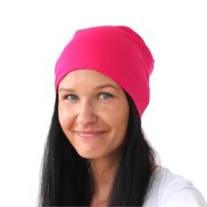 Розовая шапка Brazgovka