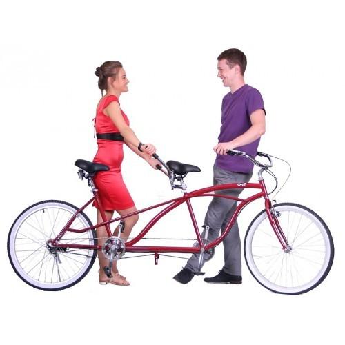 Велосипед для двоих влюбленных