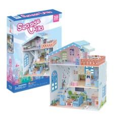 3D пазл Cubic Fun для девочек Прибрежная Вилла
