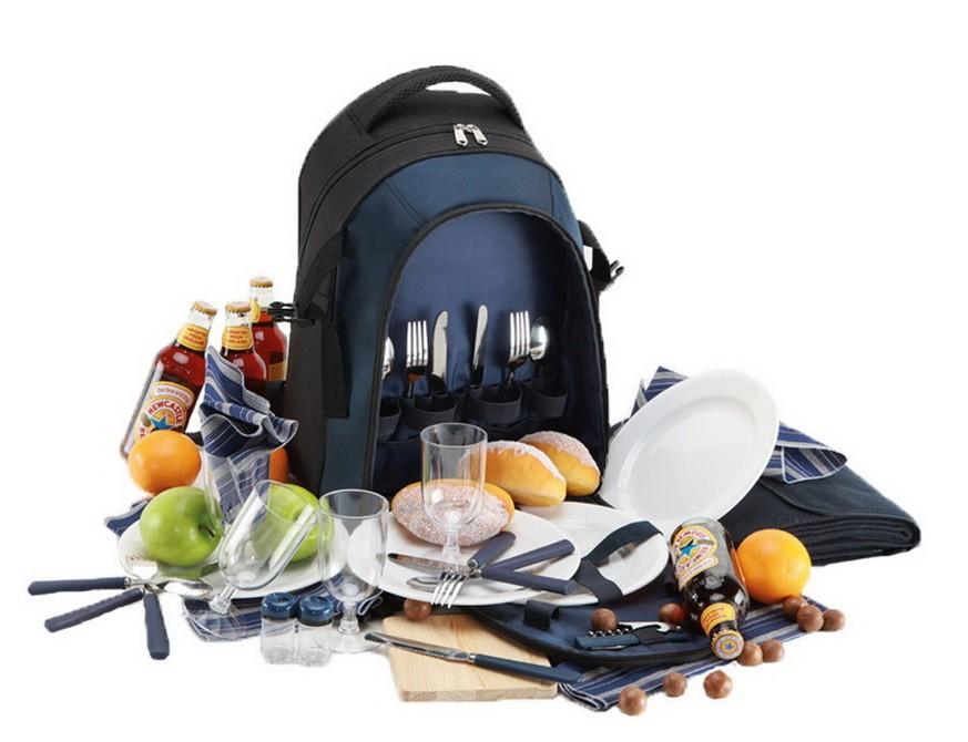 Рюкзак для пикника, синий