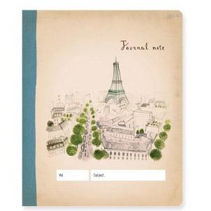 Мини-журнал для записей Paris