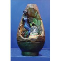 Декоративный фонтан Африканская девушка