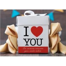 Печенье с предсказаниями Для влюблённых