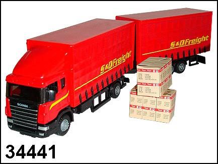 Машина Scania Highway