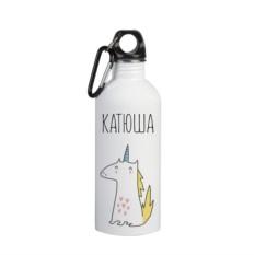 Именная бутылка для воды Катюша