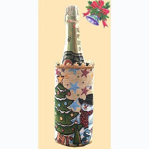 Манжет на бутылку Счастливое Рождество