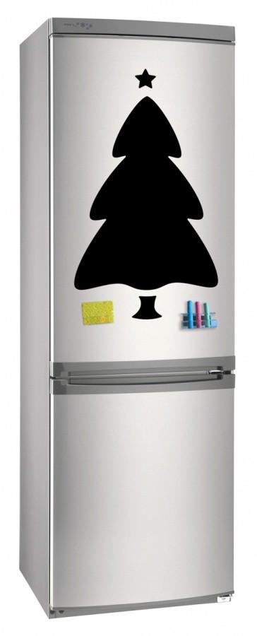 Магнитная доска на холодильник Ёлка