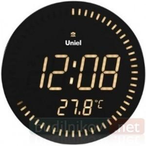 Электронные сетевые настенные часы Uniel UTL10Y