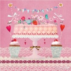 Бумажные салфетки Lovely cake
