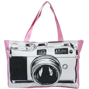 Сумка-фотоаппарат (розовая)