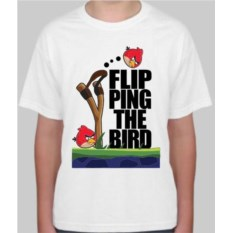Детская футболка Flip ping the bird