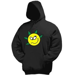 Толстовка-кенгурушка Smile green