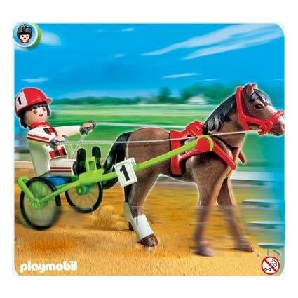 Лошадка на скачках