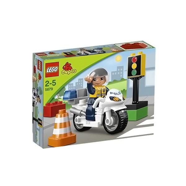 Конструктор Lego Duplo Полицейский мотоцикл