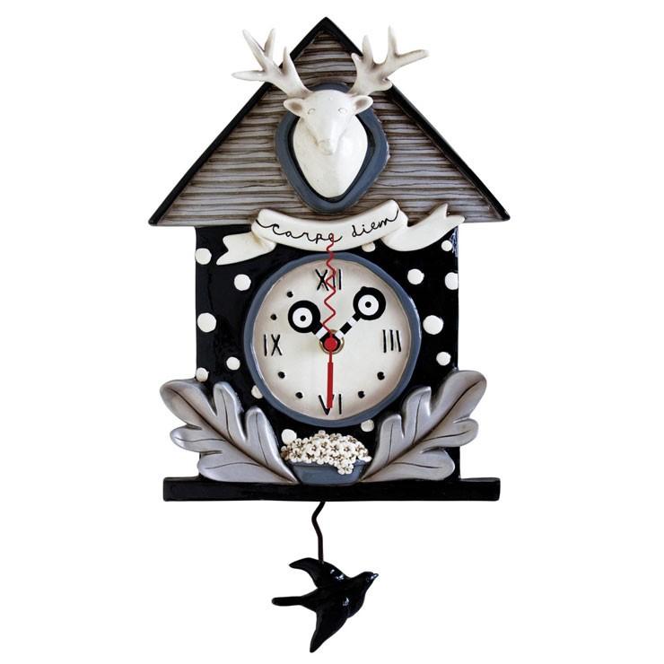 Часы Лови момент (черные)