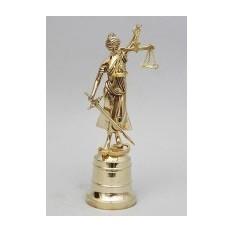 Бронзовая скульптура Правосудие