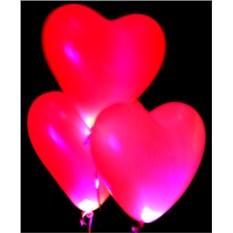 Светящийся шар Пламенные сердца