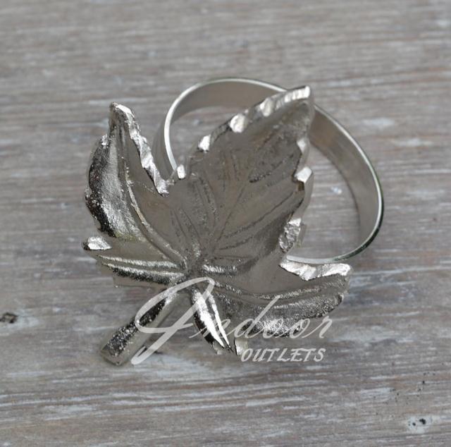 Кольцо для салфеток Лист