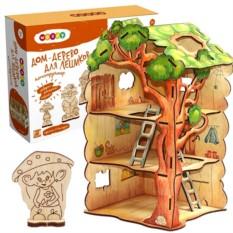 Деревянный конструктор «Дом-дерево для Лешиков»