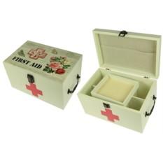 Шкатулка для хранения мед препаратов Винтаж