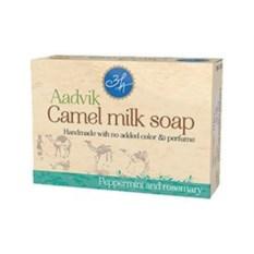Мыло из верблюжьего молока Розмарин и мята Aadvik foods