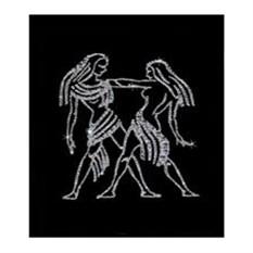 Хрустальная картина «Близнецы»