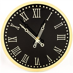 Стеклянные настенные часы Куранты Кремля, круглые