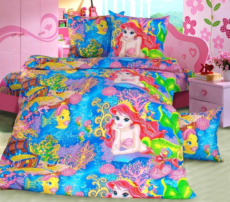 Комплект постельного белья Морская сказка (ясельный)