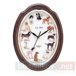 Часы настенные Любимые собачки