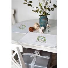 Кухонная салфетка с именной вышивкой Romantique