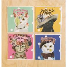 Поздравительные карточки PrettyMiao