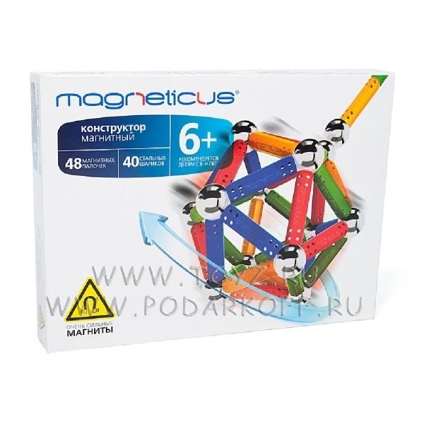 Magneticus конструктор (88 элементов) 4 цвета