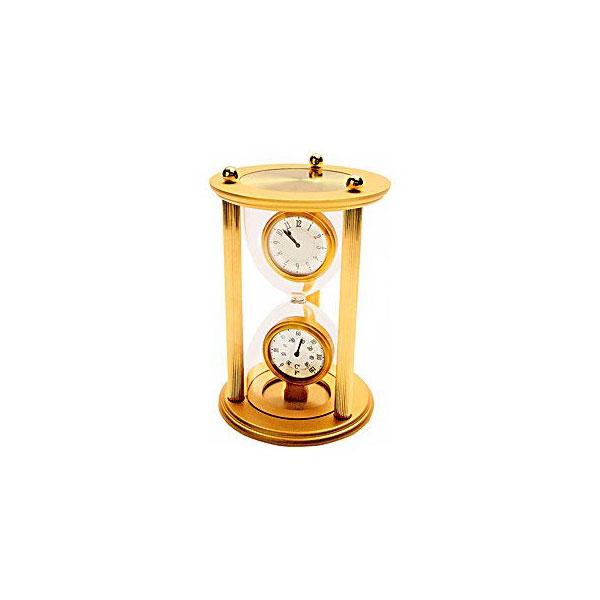 Часы с термометром «Песочные часы»
