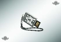 Серебряная флеш-карта «Букварь», 32Gb