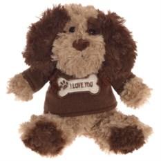 Мягконабивная игрушка Собака I Love You