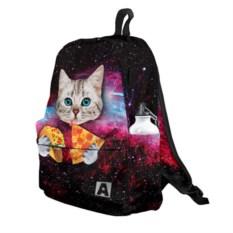 3D-рюкзак Кот с едой