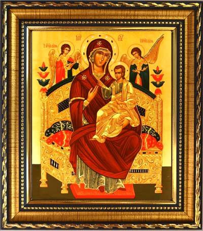Икона Божьей Матери Всецарица «Пантанасса».