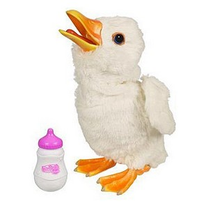 Электронная игрушка Новорожденный белый утенок