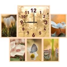 Часы с фоторамками Лирика