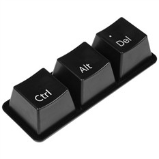 Черные пиалки «Перезагрузка Ctrl-Alt-Del»