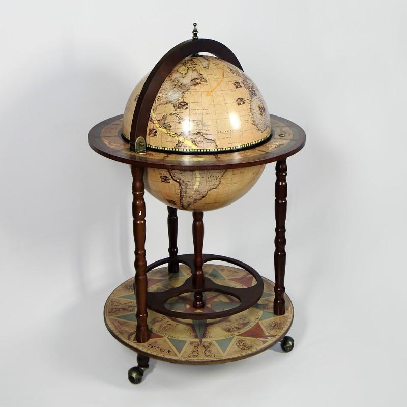 Напольный глобус-бар
