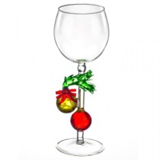 Бокал для вина Ёлочные шары