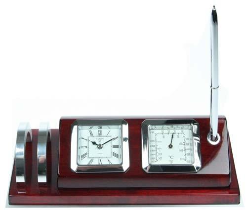 Настольный набор с часами VIRON