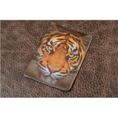 Обложка для паспорта Тигр (пластик)