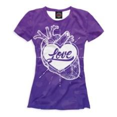 Футболка Любовь в сердце